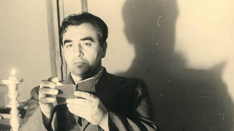 Николай Харджиев, 1940-егоды. Фотограф Теодор Гриц
