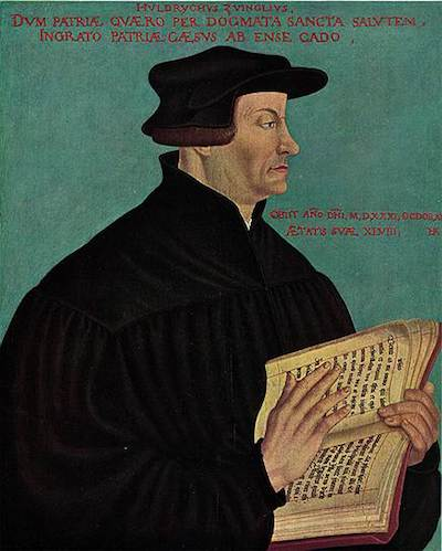 Ганс Аспер. «Ульрих Цвингли», 1549 год