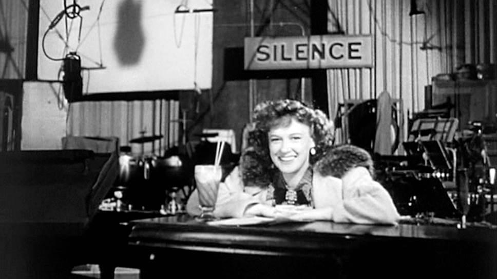 Дороти Комингор на съемках «Гражданина Кейна», 1940 год