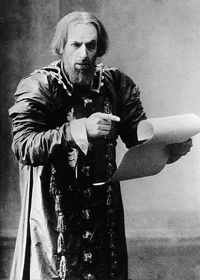 Сцена из спектакля «Царь Федор Иоаннович», МХТ, режиссер К.С. Станиславский, 1898 год
