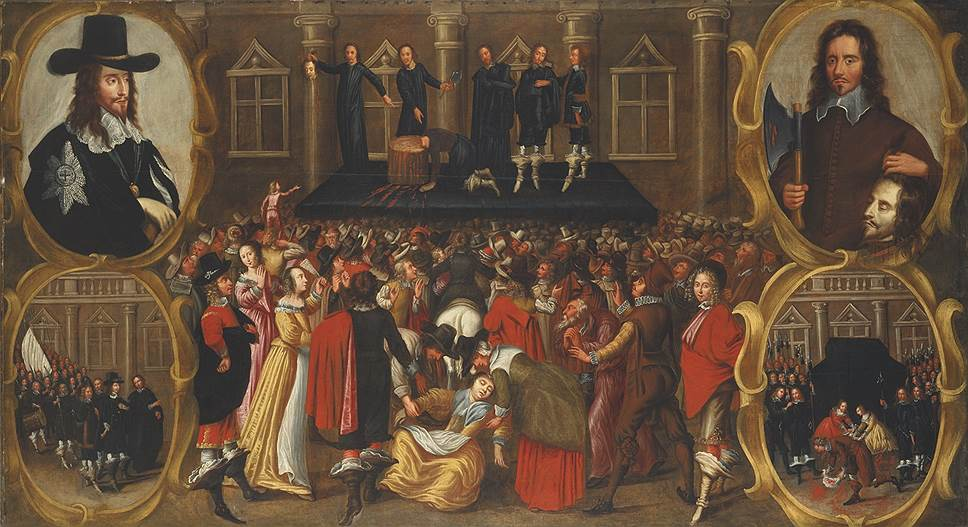 Джон Висоп. «Казнь короля Англии Карла І Стюарта в 1649 году глазами очевидца», XVII век