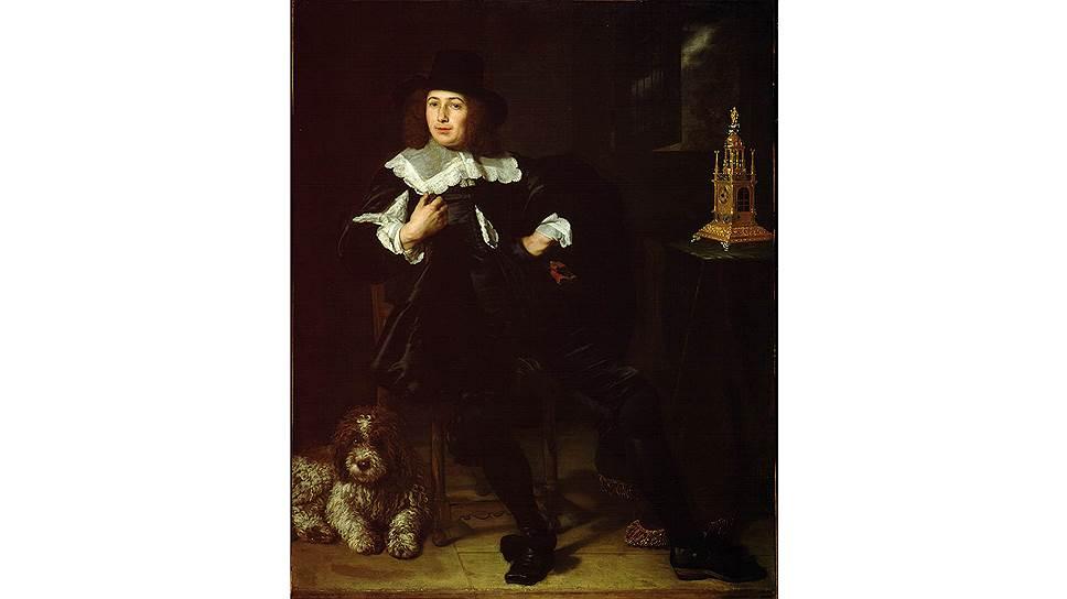 Бартоломеус ван дер Гельст. «Мужской портрет», 1640-егоды