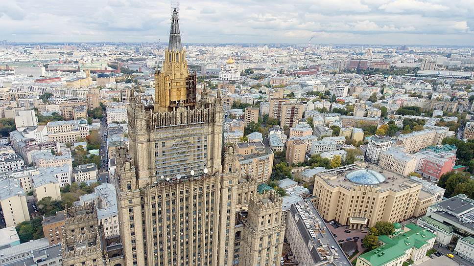 Здание МИД на Смоленской площади, Москва