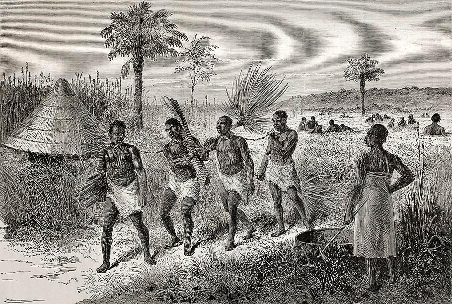 Рабы в Восточноий Африке, 1864 год