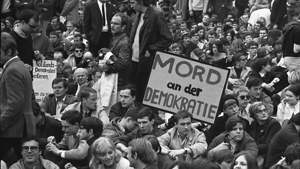 1968 год в Германии