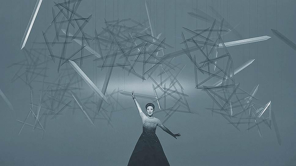 «Травиата». Режиссер Роберт Уилсон, Пермский театр оперы и балета, 2016