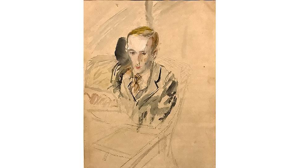 Алексей Успенский. «Портрет Всеволода Петрова», 1939