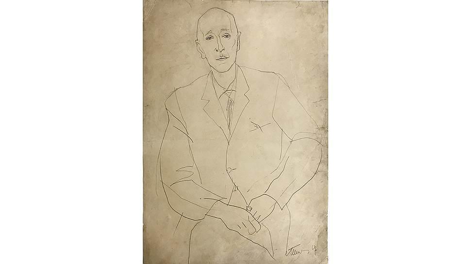 Татьяна Шишмарева. «Портрет Всеволода Николаевича Петрова», 1967
