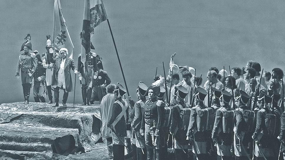Опера «Война и мир», режиссер Андрей Кончаловский
