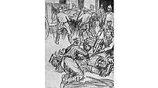 «Пушечное мясо». Луи Рамакерс, 1916