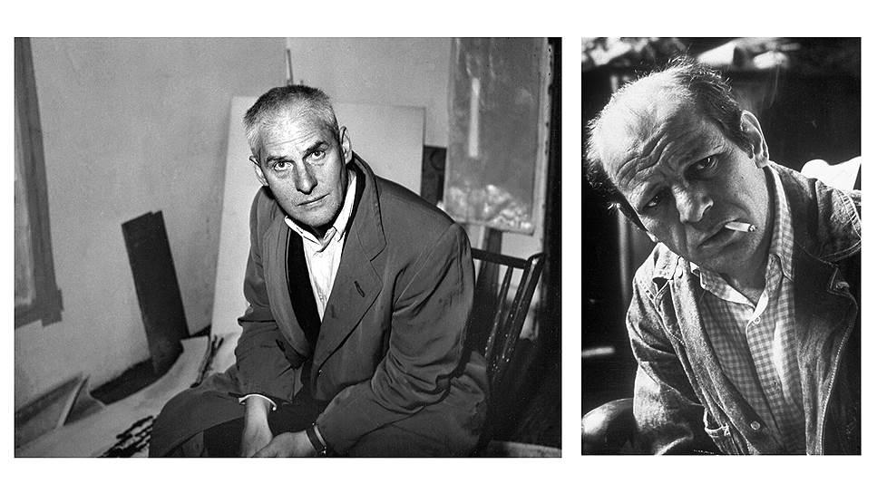 Виллем де Кунинг, 1956 / Джексон Поллок, 1950-е