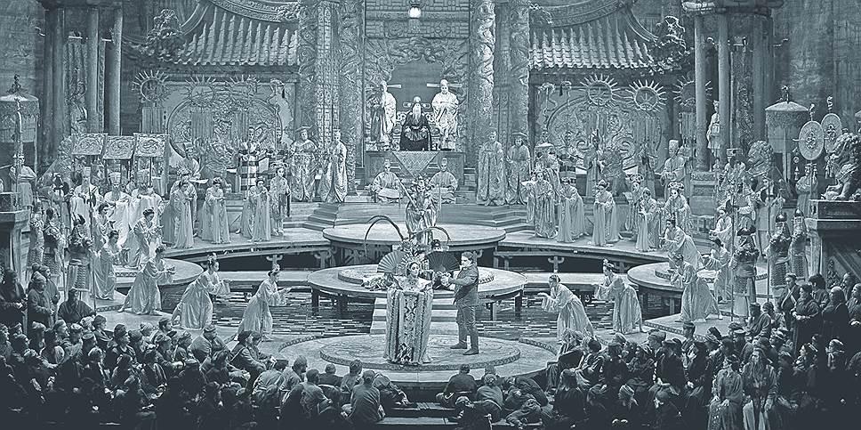 Опера «Турандот», режиссер Франко Дзеффирелли