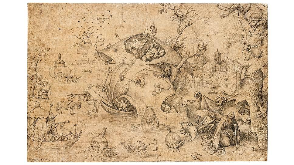 «Искушение святого Антония», 1556