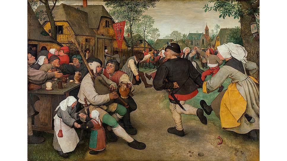 «Крестьянский танец», 1568