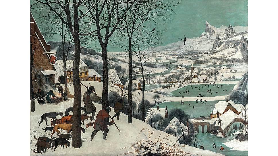 «Охотники на снегу», 1565