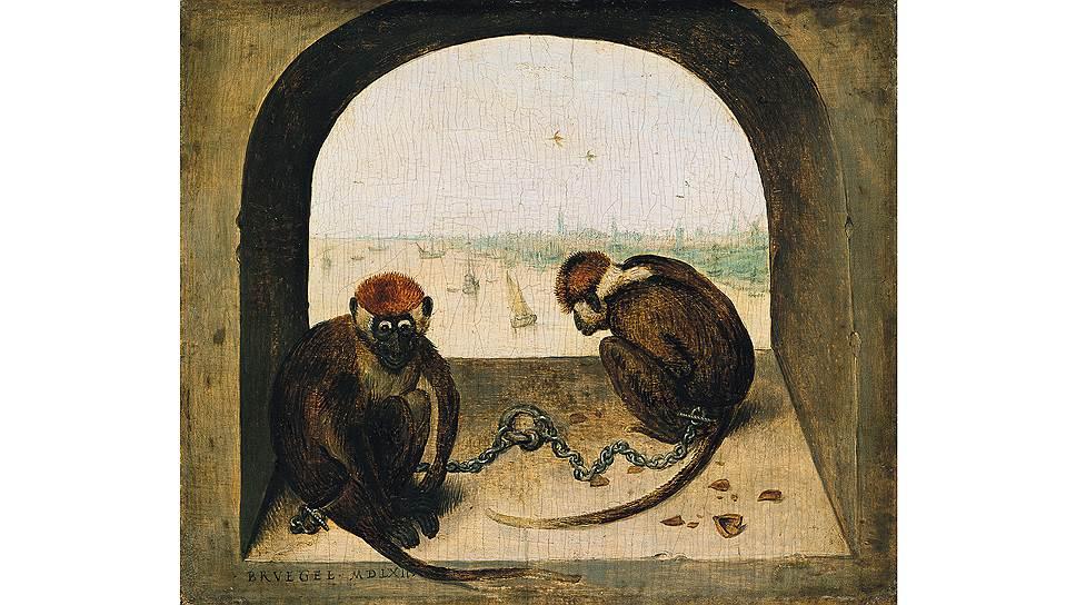 «Две обезьяны», 1562