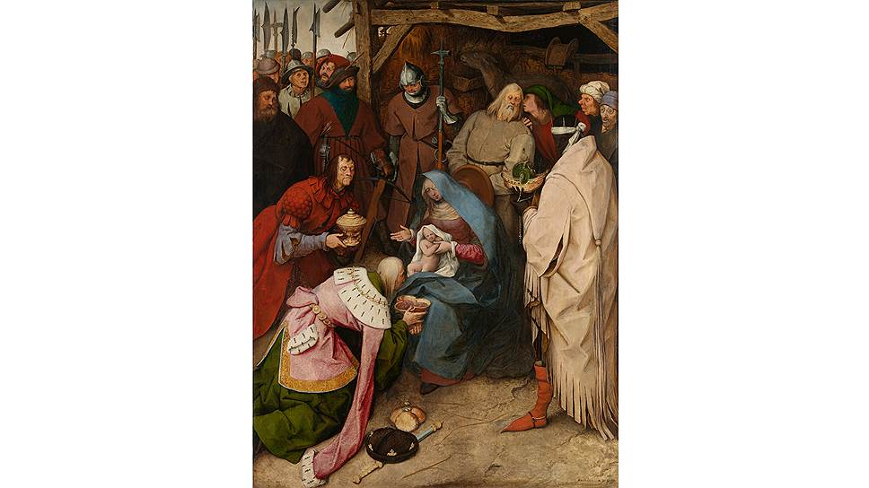 «Поклонение волхвов», 1564