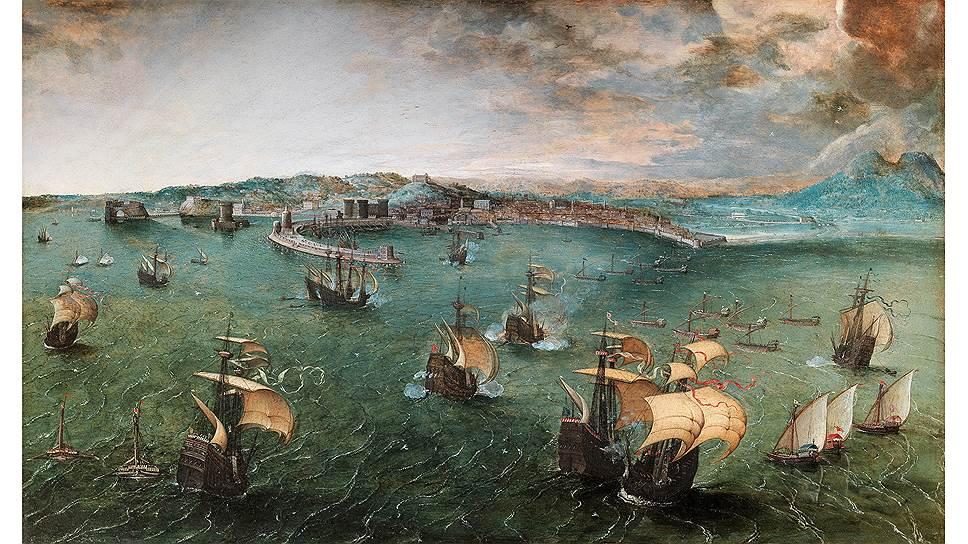 «Неаполитанская гавань», около 1563