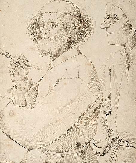 Питер Брейгель Старший. «Художник и знаток», около 1566