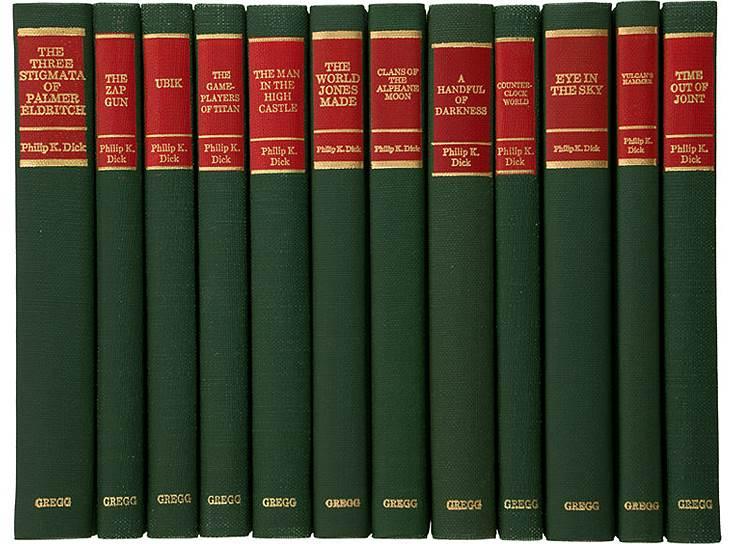 Собрание сочинений Филиппа К.Дика, Gregg Press, 1978