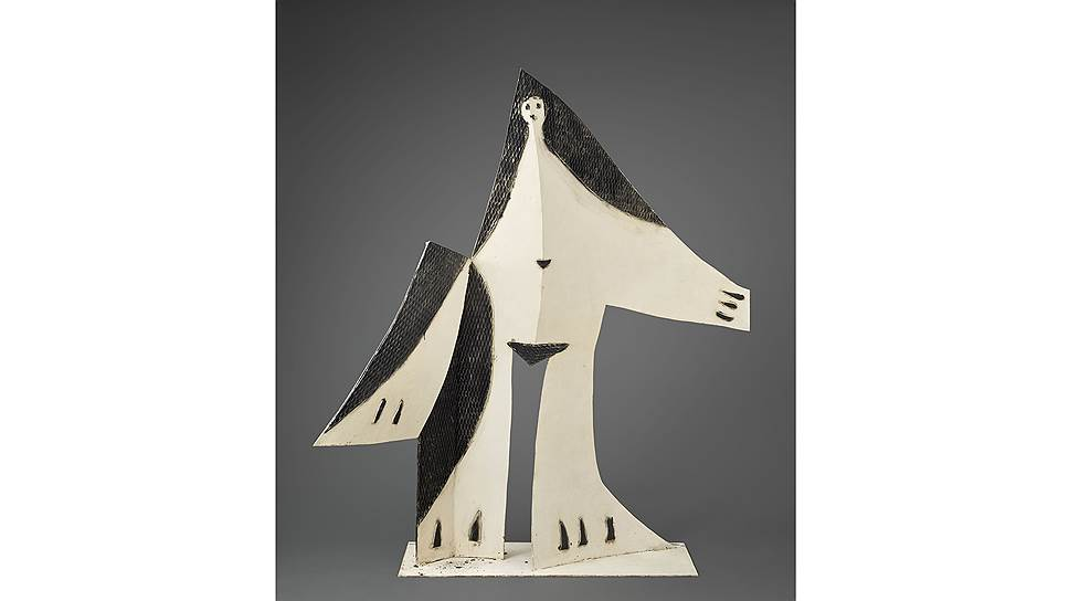 «Женщина с протянутой рукой», 1961