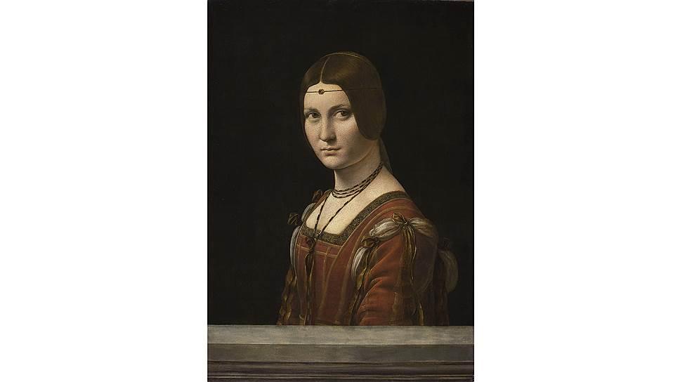 Леонардо да Винчи. «Прекрасная Ферроньера», 1490