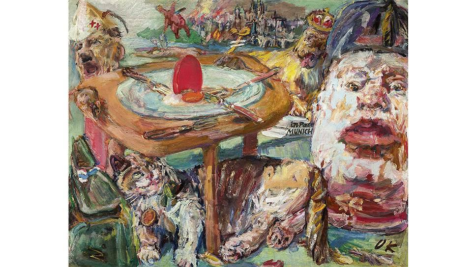 Оскар Кокошка. «Красное яйцо», 1941