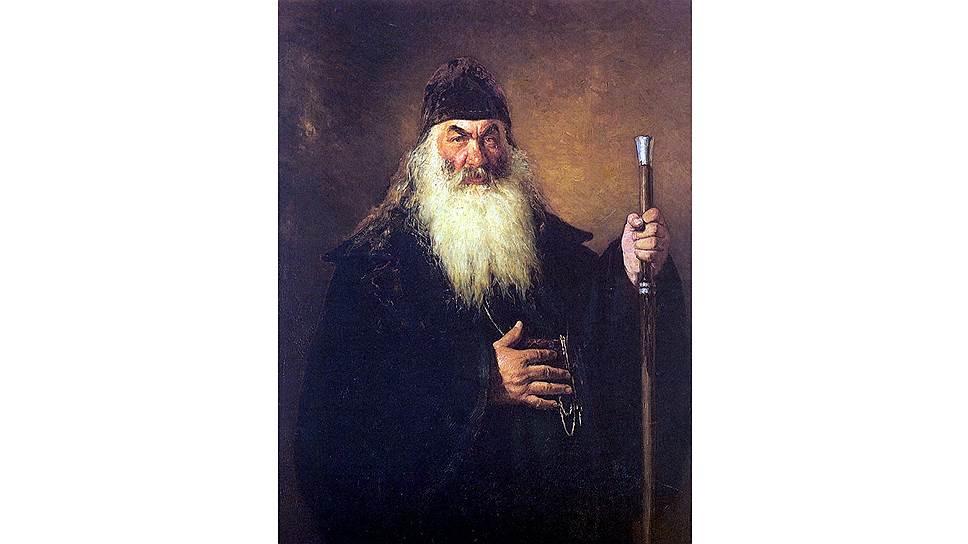 Илья Репин. «Протодьякон», 1881