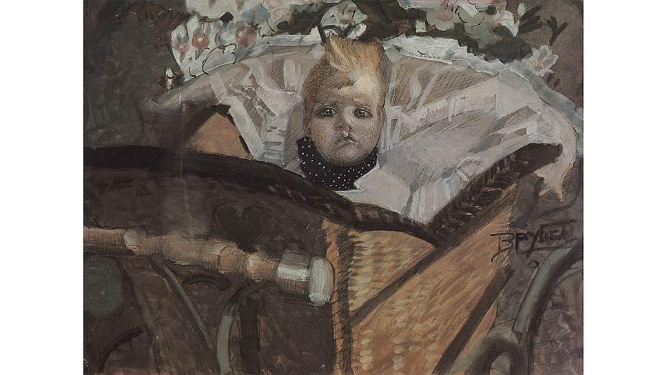 Михаил Врубель. «Портрет сына», 1902