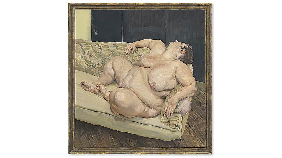 Люсьен Фрейд. «Социальный смотритель спит», 1995