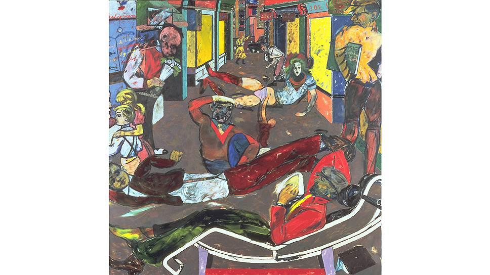 Рон Б.Китай. «Сесил Корт, Лондон WC2 (Беженцы)», 1983