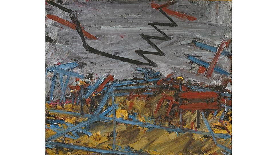 Франк Ауэрбах. «Примроуз-хилл», 1967