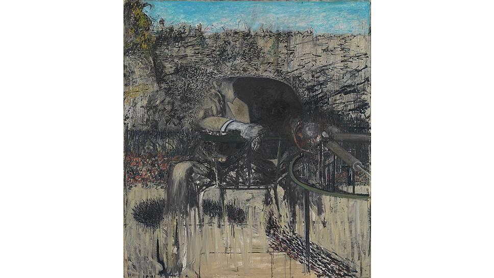 Фрэнсис Бэкон. «Фигура в пейзаже», 1945