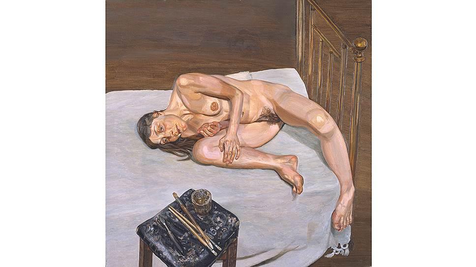 Люсьен Фрейд. «Портрет обнаженной», 1972