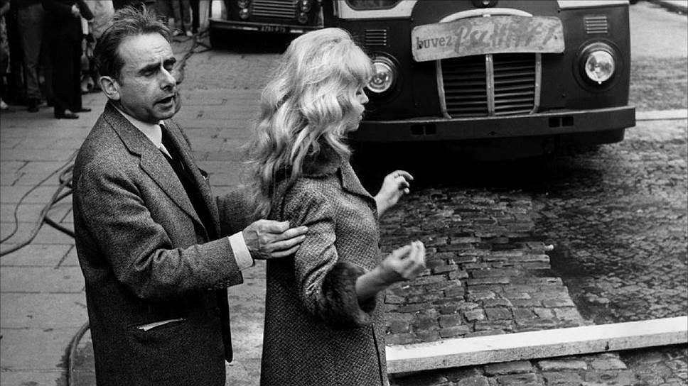 Анри-Жорж Клузо и Брижит Бардо на съемках «Истины», 1960