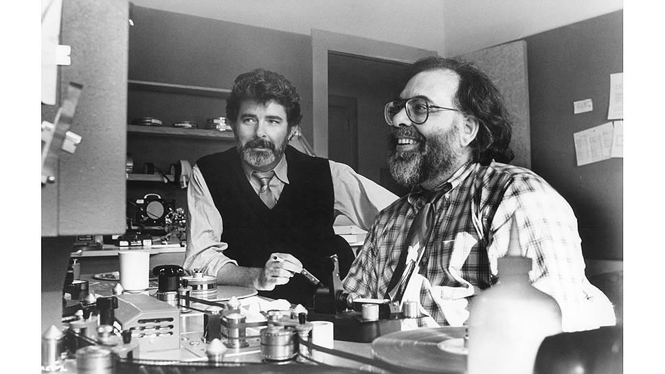 Джордж Лукас и Фрэнсис Форд Коппола, 1987