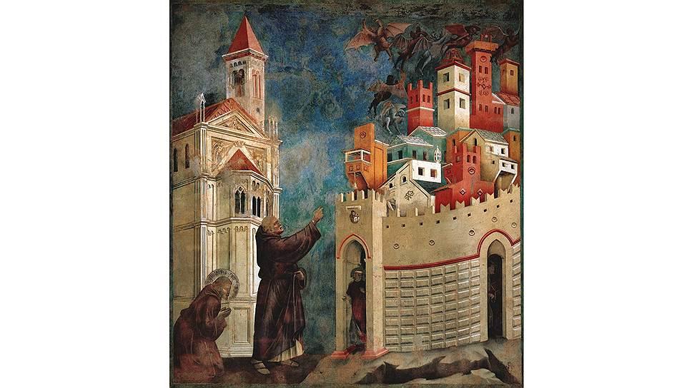 """Джотто ди Бондоне. """"Сцены из жизни Святого Франциска"""""""