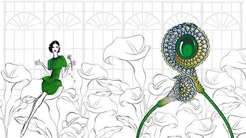 Цветы и сердца  / Елена Стафьева о haute joaillerie Red Carpet Chopard