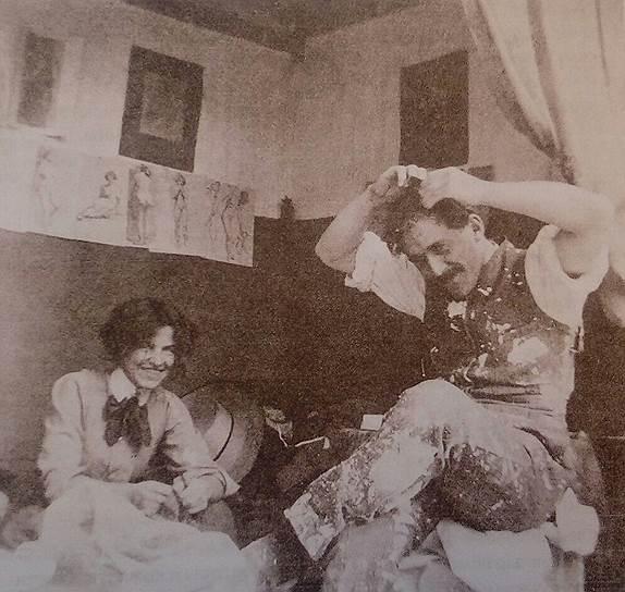 Сигне Хаммарстен и Виктор Янссон, 1910-е