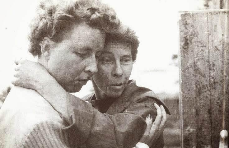 Туве Янссон и Вивика Бандлер, 1950