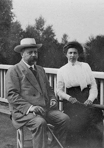 Федор и Наталья Шехтель