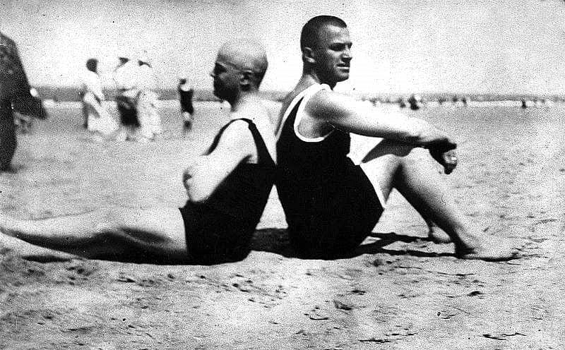 Виктор Шкловский и Владимир Маяковский