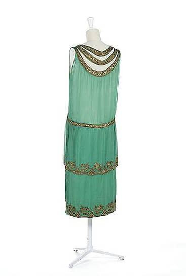 Вечернее платье, около 1925 года