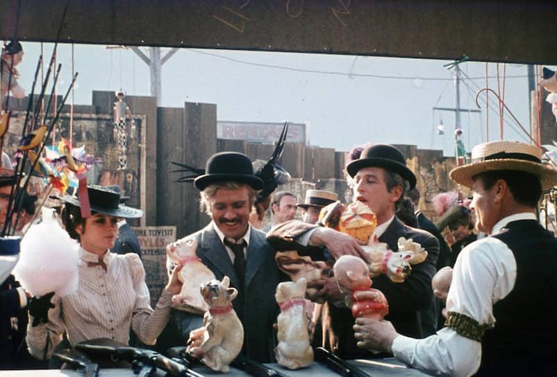 «Буч Кэссиди и Сандэнс Кид». Режиссер Джордж Рой Хилл, 1969
