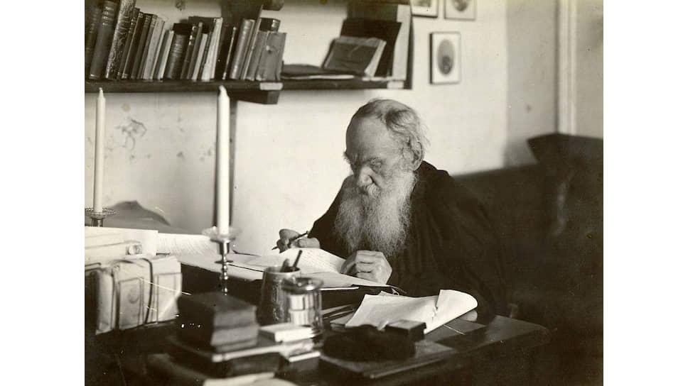 Лев Толстой, 1909