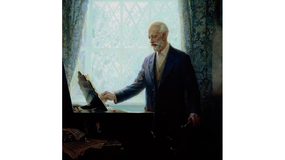 Петр Чайковский (портрет Татьяны Федоровой)