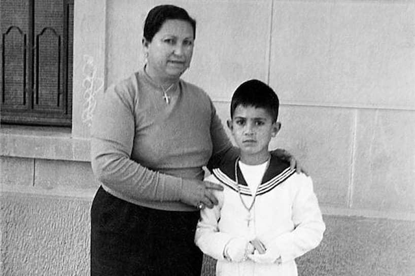 Франсиска Кабальеро и Педро Альмодовар, около 1959