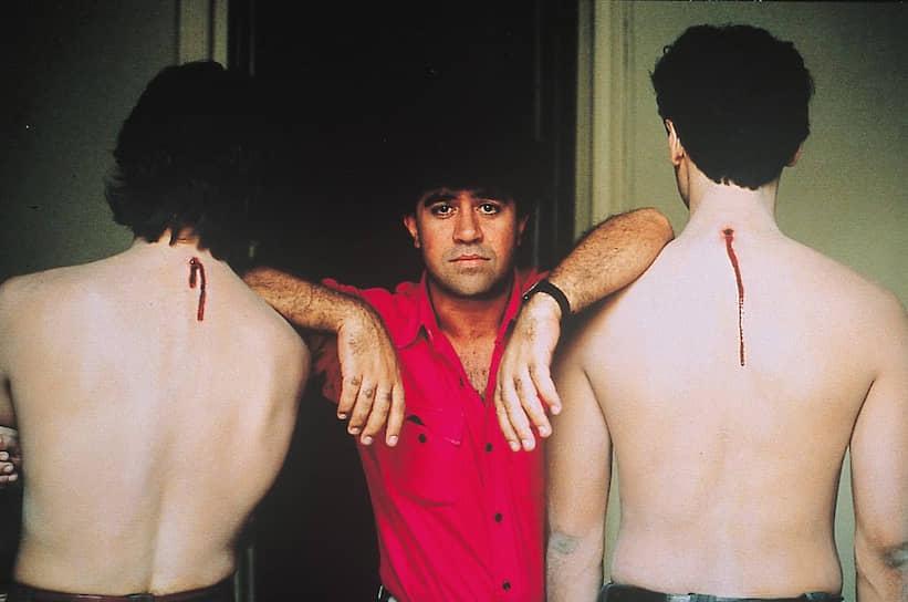 На съемках «Матадора», 1985