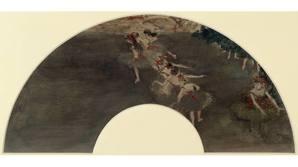 Эдгар Дега. «Балет», около 1880