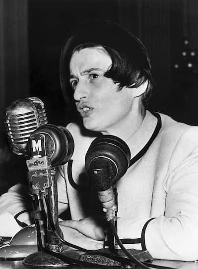 Айн Рэнд на заседании комиссии Конгресса по расследованию антиамериканской деятельности, 20октября 1947-го